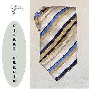 Vintage 80s Pierre Cardin Silk Necktie